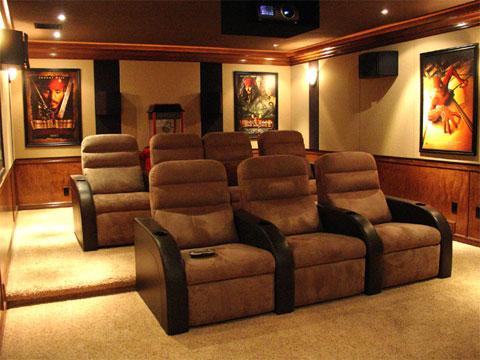 Lựa chọn ghế ngồi cho phòng chiếu phim gia đình - hình 2