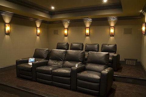 Lựa chọn ghế ngồi cho phòng chiếu phim gia đình