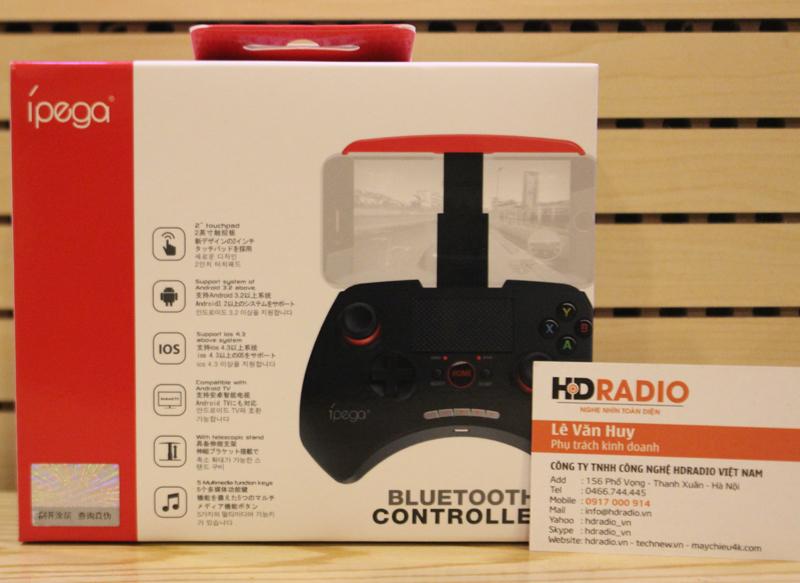Tay cầm chơi game Bluetooth iPega PG-9028