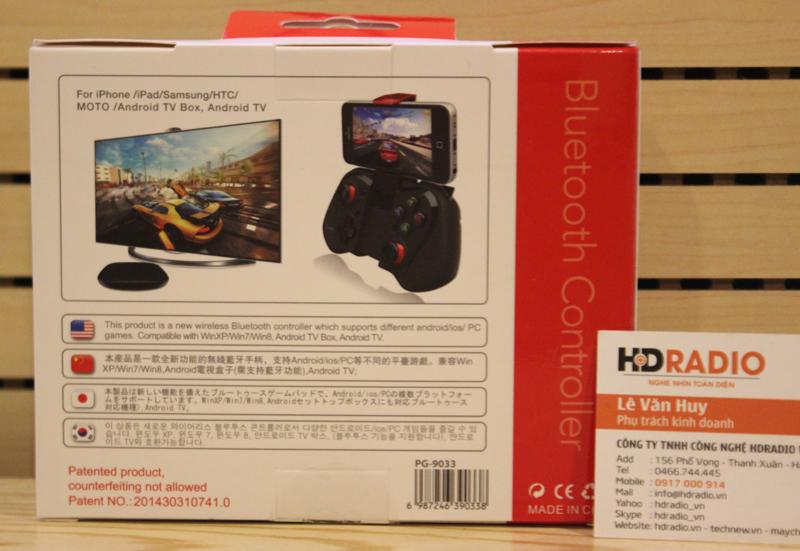 Tay cầm chơi game Bluetooth iPega PG-9033