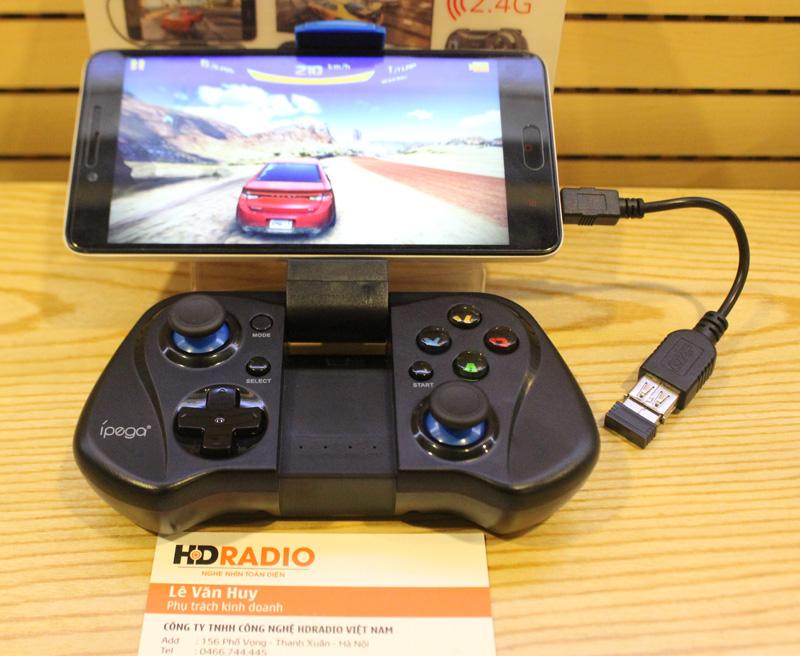 Tay cầm chơi game Ipega Bluetooth PG - 9035.