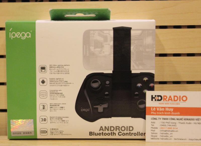 Tay cầm chơi game IPEGA PG - 9052 Bluetooth.