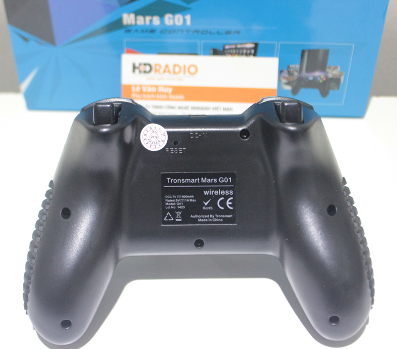 Mặt sau Tay cầm chơi games Tronsmart G01
