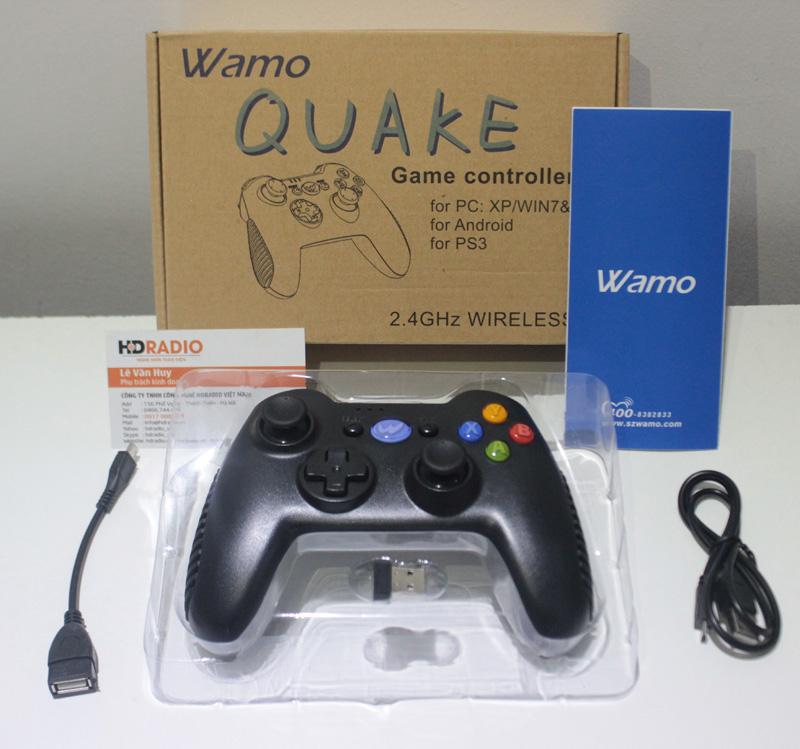 Chi tiết hình ảnh Tay cầm chơi games Wamo Quake