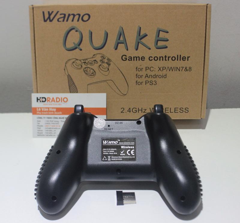 Phía dưới Tay cầm chơi games Wamo Quake