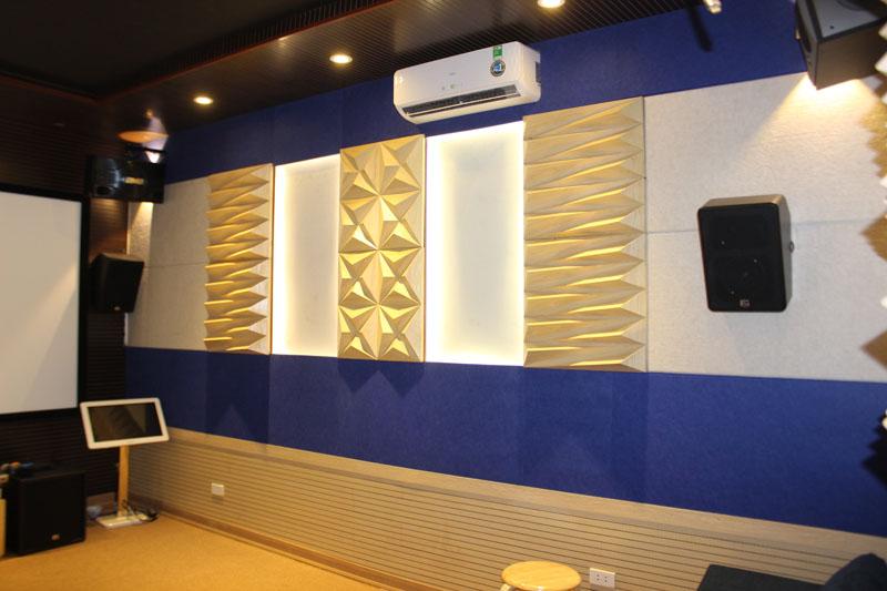 Mẫu phòng chiếu phim Demo tại Showroom HDRADIO.VN