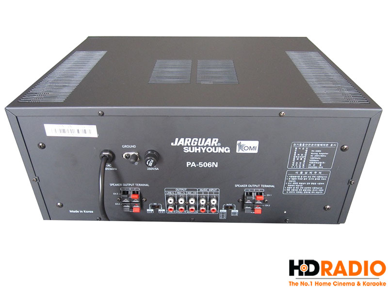 Amply Karaoke Jarguar Suhyoung PA-506N