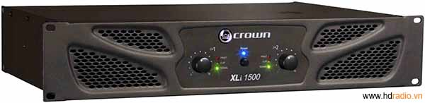 Cục đẩy CROWN XLI 1500-mặt trước