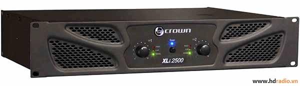 Cục đẩy CROWN XLI 2500-mặt trước