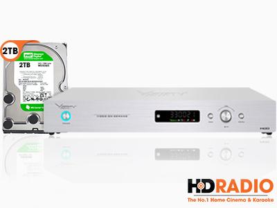 Đầu Karaoke Việt KTV HD Plus và Ổ Cứng 2TB