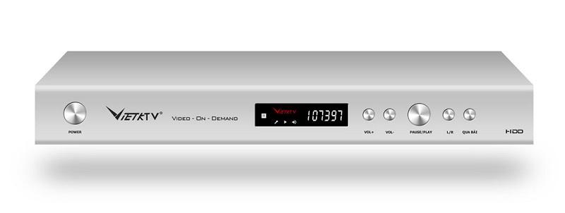 Đầu Karaoke Việt KTV HD Pro và Ổ Cứng 2TB + Màn hình cảm ứng 22inch