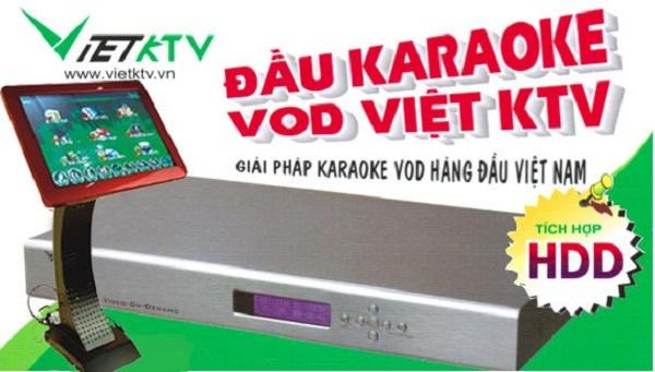 đầu karaoke việt ktv sd