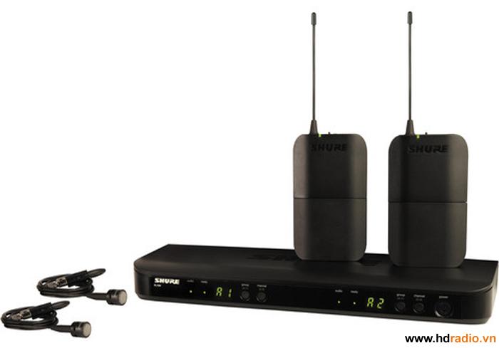 Bộ micro không dây Shure BLX188A/PG85