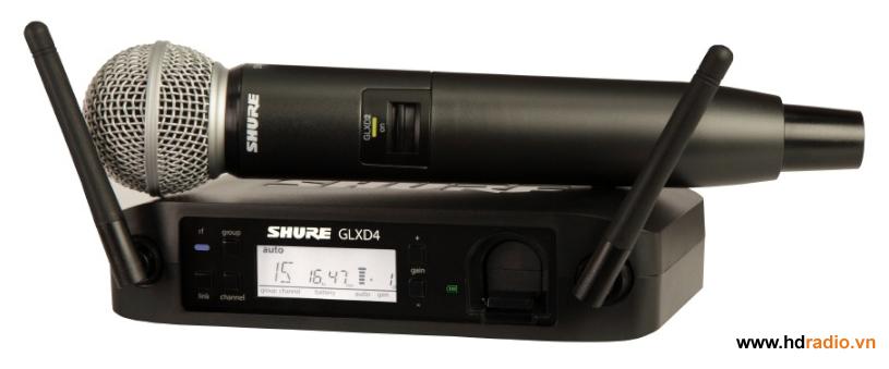 Bộ micro không dây Shure GLXD24/SM58