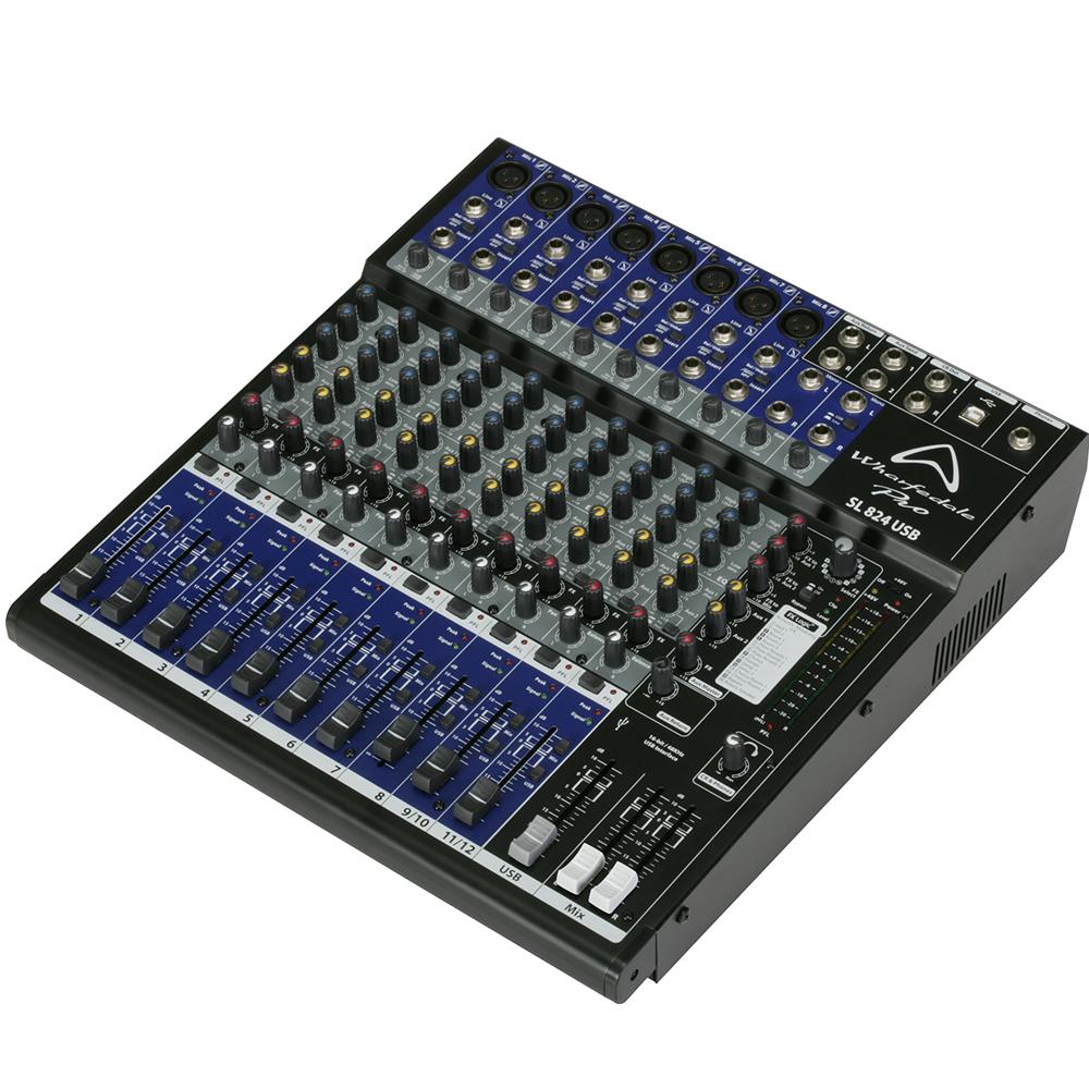 Bàn Mixer Wharfedale SL824USB