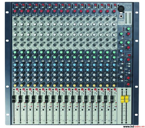 Mixer SOUNDCRAFT GB2R/16