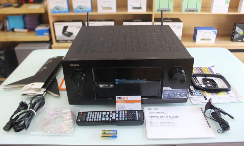 Trọn bộ phụ kiện Amply Denon AVR-X7200WA
