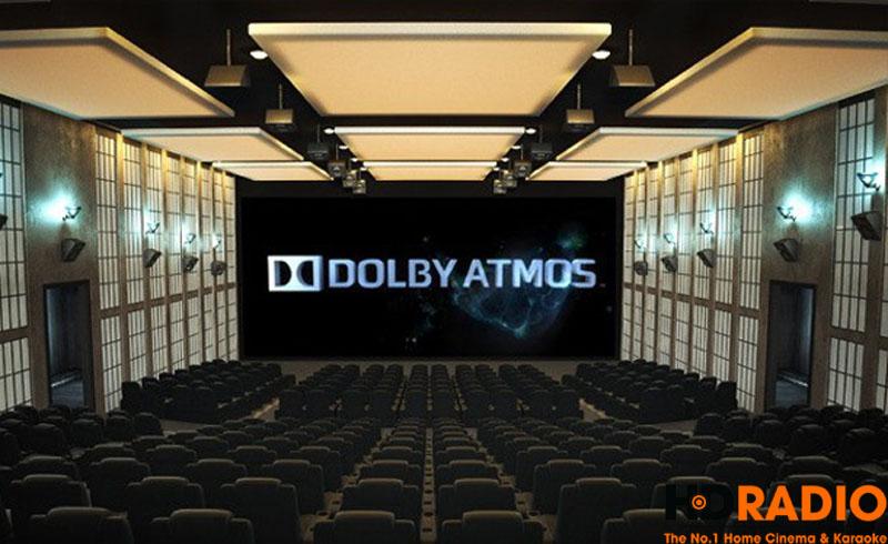 Amply Denon AVR-X3300 Hỗ trợ chuẩn âm thanh Dolby Atmos