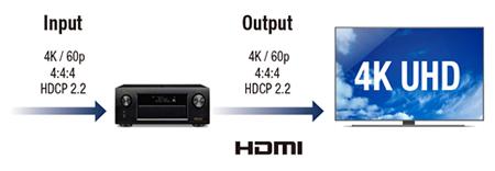 hỗ trợ 4K Ultra HD 60 Hz full rate video