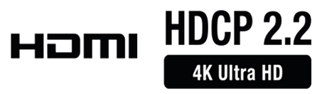 HDCP 2.2 compatible