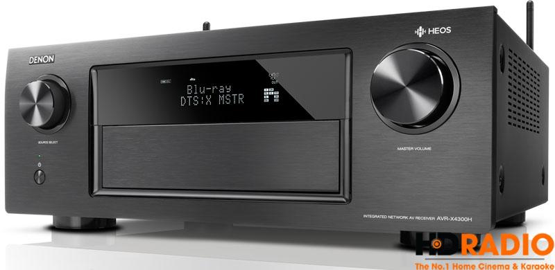 Chuẩn âm thanh DTS:X trên Amply Denon AVR-X4000H