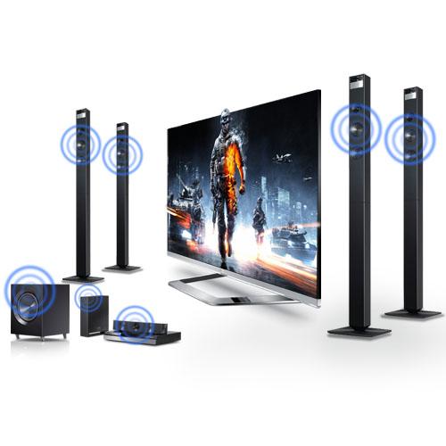 Đầu phát HD HiMedia Q10 4K 3D Bluray-âm thanh