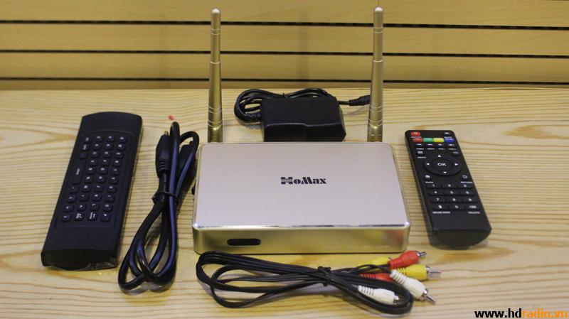 Android TV Box Homax T6 kèm chuột bay Km900