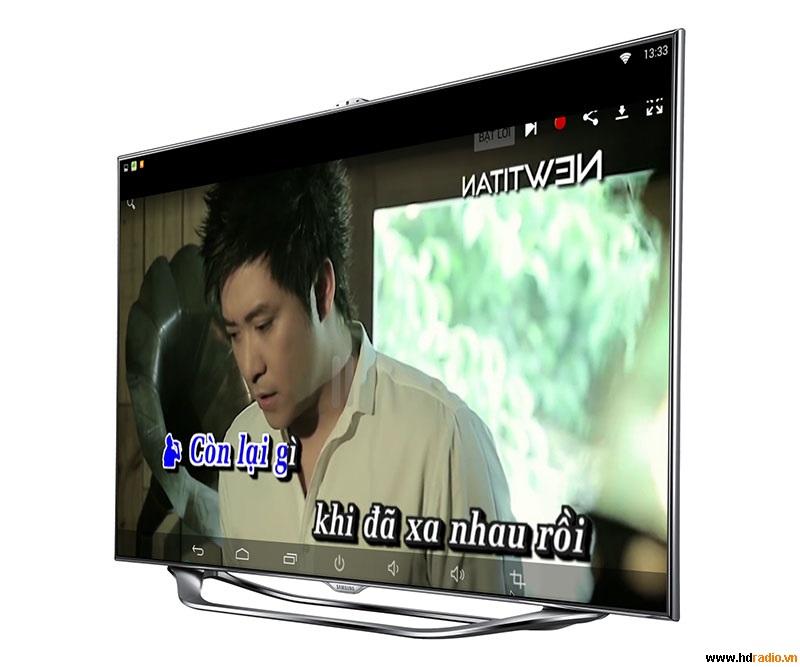 Android TV Box HoMax T6 - karaoke
