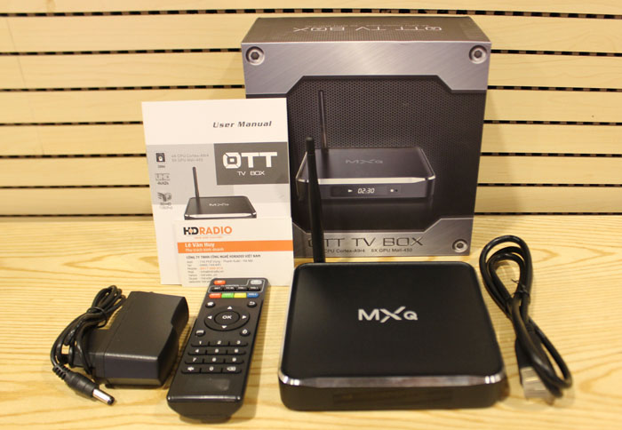 Android tv box MXQ M10