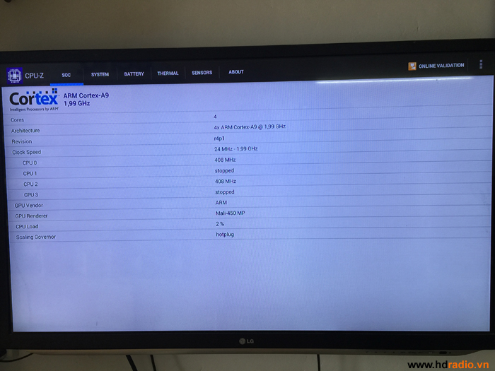 Đánh giá Android tv box MXQ M10