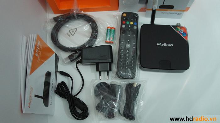 Phụ Kiện trọn bộTV Box Mygica ATV586.
