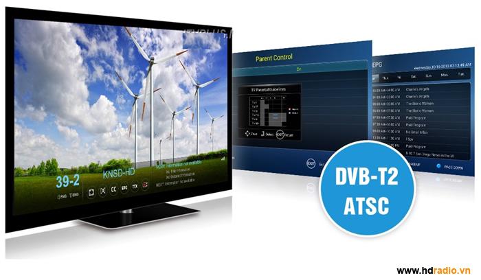 Xem truyền hình mặt đất DVB T2 – Không cần Internet