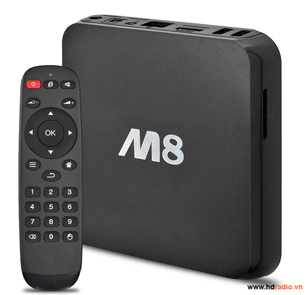 Android TV Box M8 quad core RAM 2G