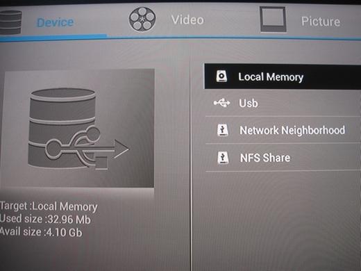 File manager hỗ trợ Samba và NFS Share