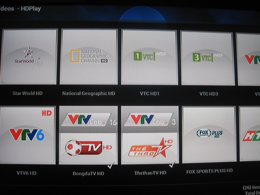 Chạy tốt Add On HDPlay trên XBMC