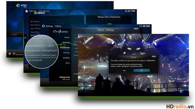 HiMedia Q3 IV - Quadcore, 3D, 4K , DTS HD hỗ trợ 3d