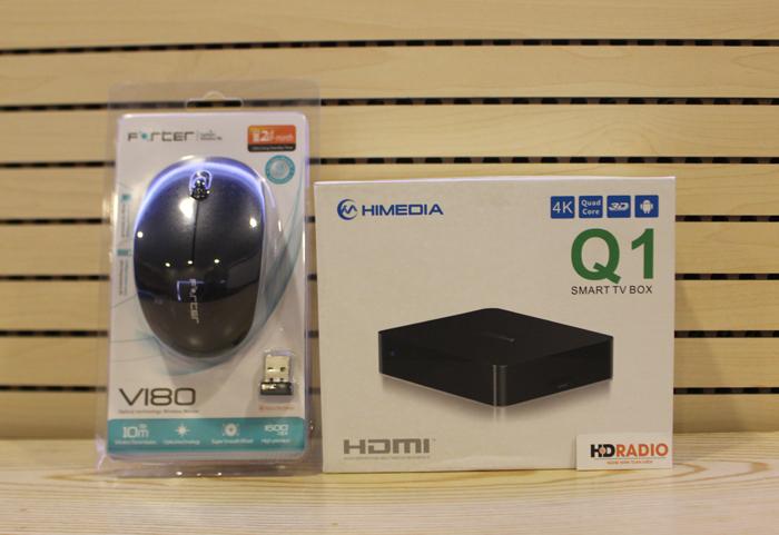 TV Box HiMedia Q1 IV - QuadCore, Ram 1G, Rom 8G, 3D, 4K