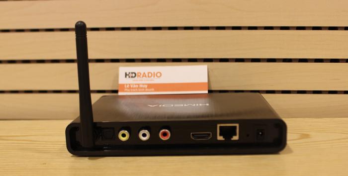 HiMedia Q3 IV với đầy đủ cổng kết nối hơn, có thêm cổng âm thanh quang Optical, rất phù hợp gia đình có dàn âm thanh xem film, hỗ trợ Dolby/ DTS 7.1 passthrough