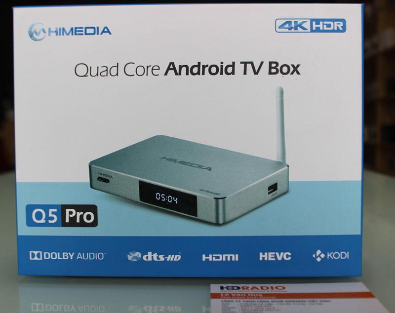 Mặt trước vỏ hộp HiMedia Q5 Pro
