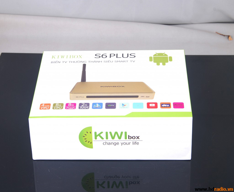 TIVI BOX KIWI S6 PLUS