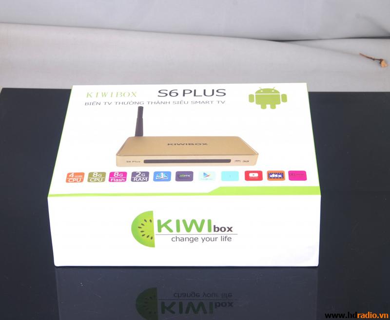 TIVI BOX KIWI S6 PLUS