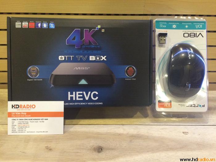 [COMBO]TV Box M8Splus [M8S+] + Chuột quang Forter A180