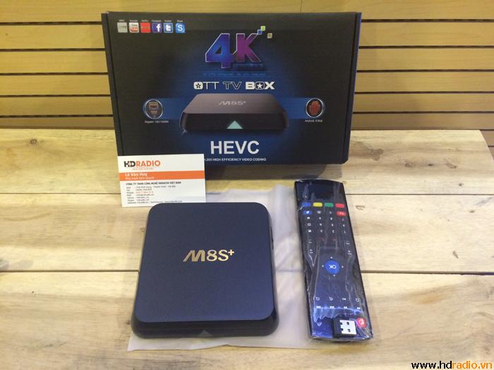 [COMBO]TV Box M8S-plus [M8S+] - Chuột bay cao cấp KM800