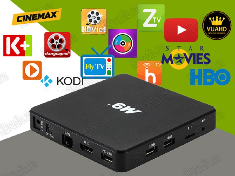 ANDROID TV BOX ENY M9 PLUS