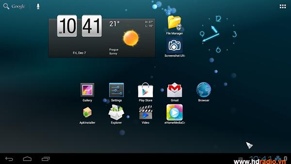 Minix NEO X5 sử dụng hệ điều hành Android 4.2.2