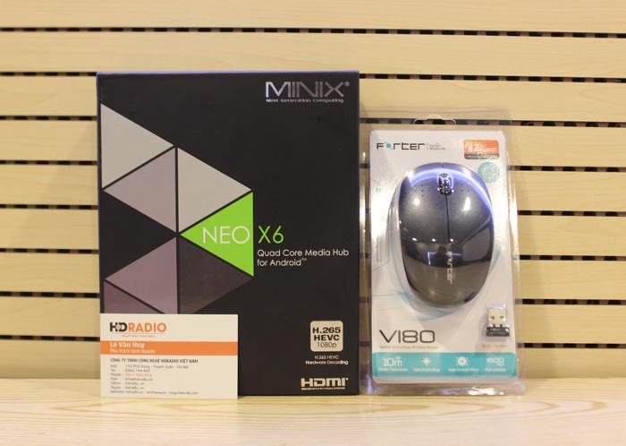 [COMBO] TV Box Minix Neo X6 + Chuột Quang Forter