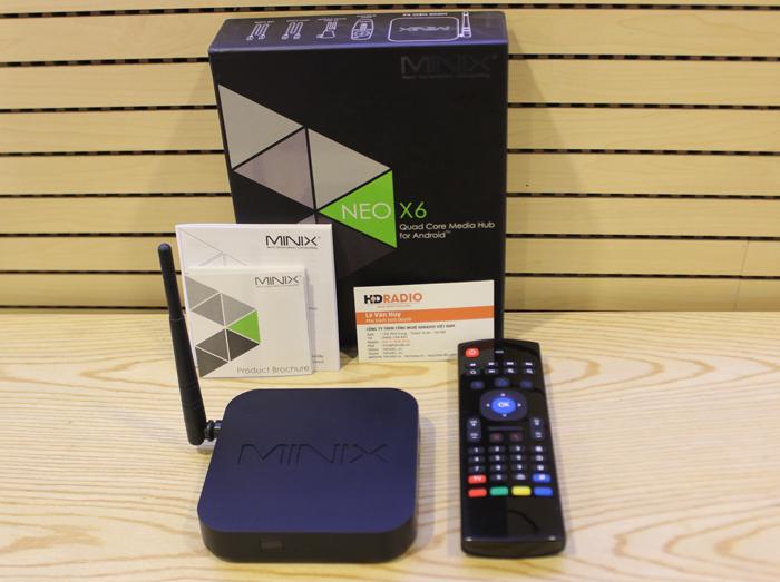 [COMBO] TV Box Minix Neo X6 + Chuột BAY KM900