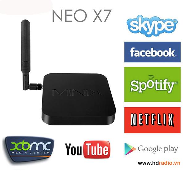 MINIX NEO X7 - Chip Lõi Tứ