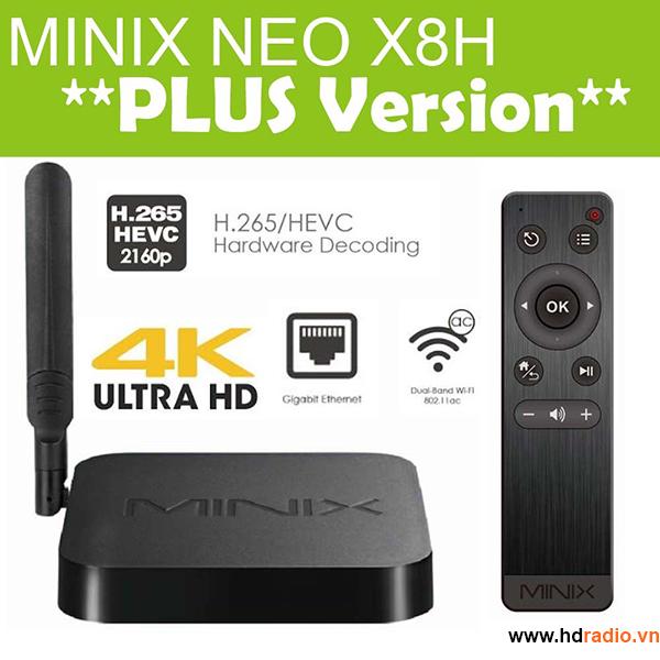 X8-H PLUS- Mãnh thú mạnh nhất của Minix