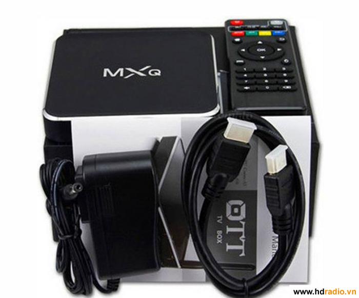 ANDROID TV BOX MXQ M12 - CHIP LÕI TỨ AMLOGIC S805 GIÁ RẺ